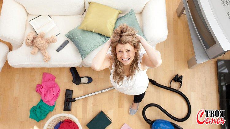 Изображение для статьи — Почему у женщины — домохозяйки может появиться депрессия?