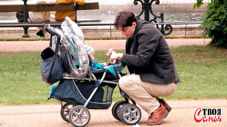 Изображение для статьи — Почему папа может находиться в отпуске по уходу за ребенком, и какие трудности его ожидают?
