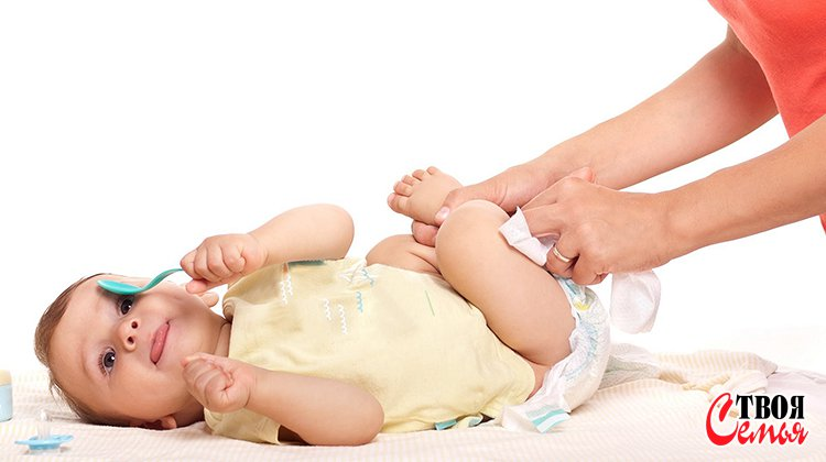 Как часто надо менять подгузник новорожденному