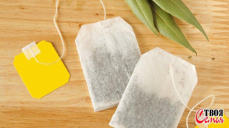 Изображение для статьи — Как можно повторно использовать чайные пакетики?