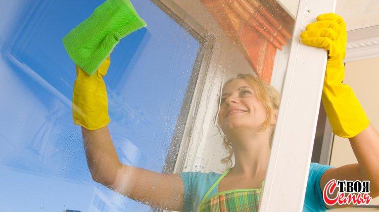 Изображение для статьи — Как эффективно и не дорого очистить загрязнения на окнах?