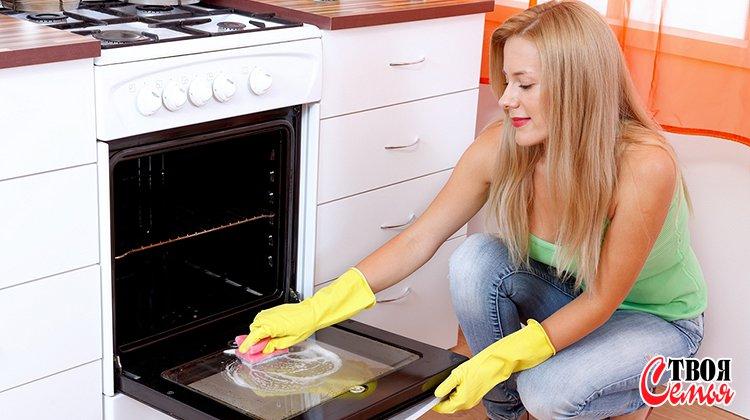 Изображение для статьи — Как очистить духовку, не используя вредных химических средств?