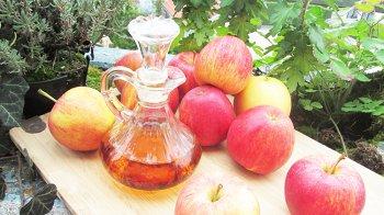 Изображение для статьи — Как можно использовать яблочный уксус для красоты и здоровья?