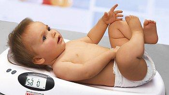 Изображение для статьи — Как правильно взвешивать новорожденного малыша?
