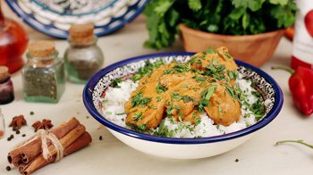 Изображение для статьи — Как приготовить курицу «Карри» с рисом?